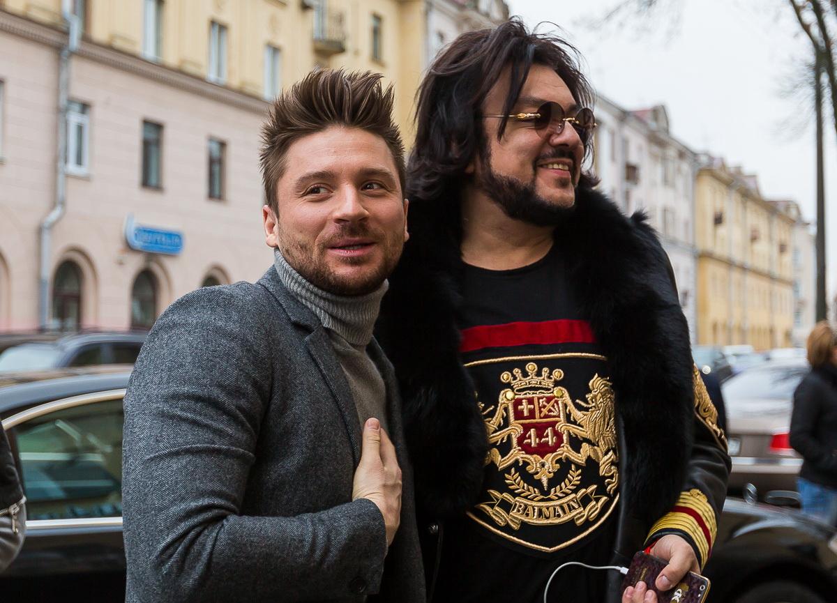 Киркоров и Лазарев