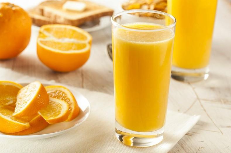 апельсиновый сок польза