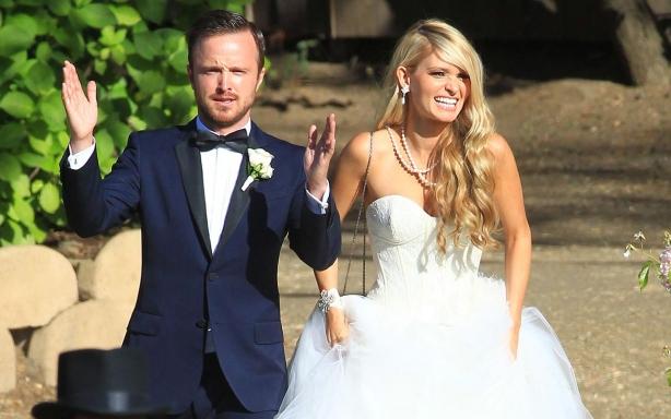 Свадьба Арона Пола