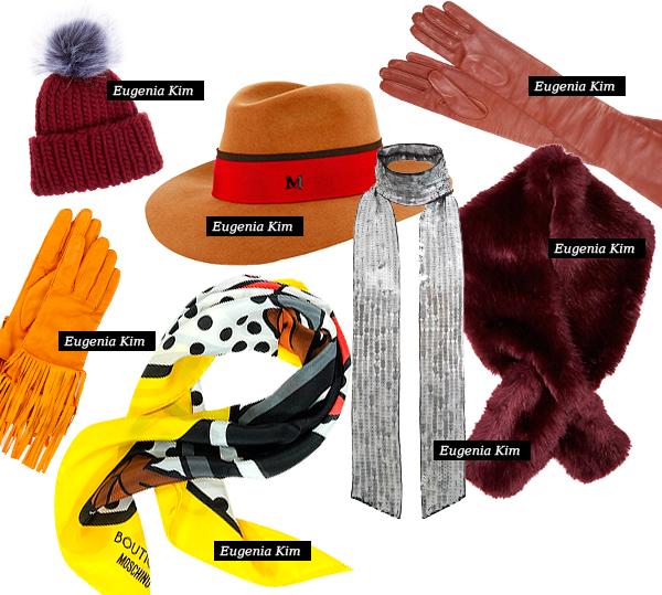 Модные аксессуары на зиму 2015-16