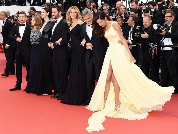 Амаль Клуни: лучший образ второго дня Каннского кинофестиваля-2016
