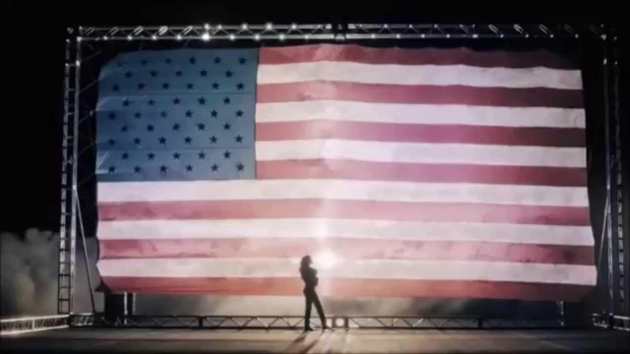 Рианна фото флаг
