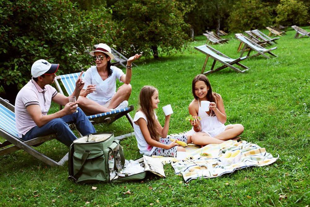Видео пикник на природе
