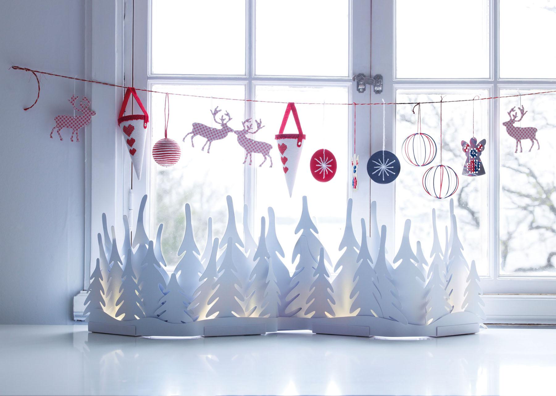 Новогоднее украшение окон своими руками фото фото 685
