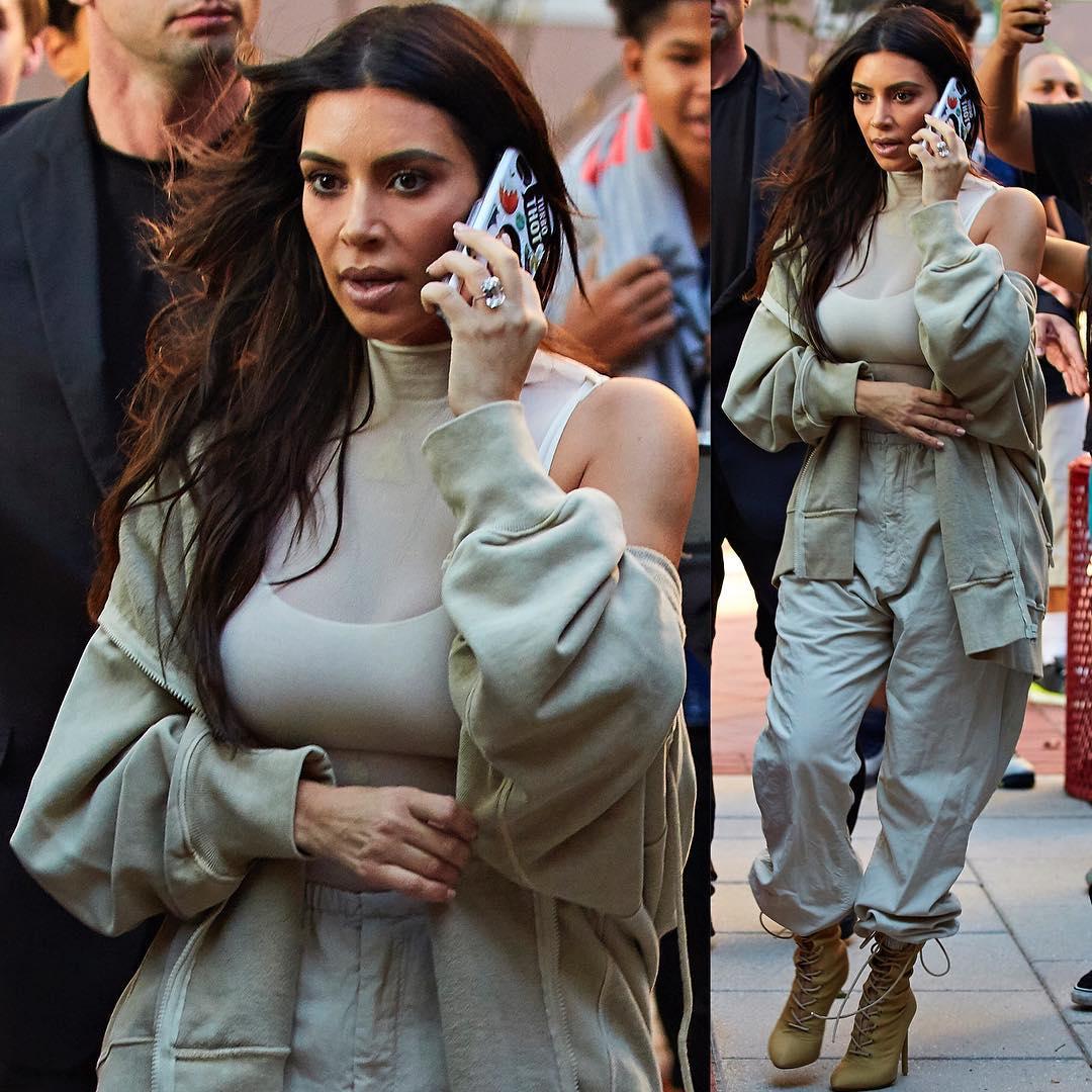 <b>Ким</b> Кардашьян создает одежду и <b>аксессуары</b> со своими ...