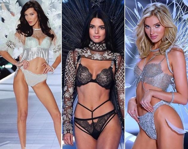 Лучшие образы на шоу Victoria's Secret: Кендалл Дженнер, сестры Хадид,