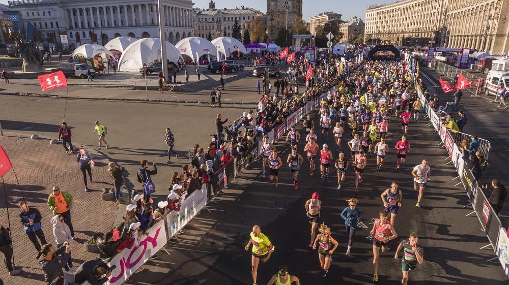Киевский марафон официально стал квалификационным стартом в глобальном рейтинге Wanda Age Group World Rankings