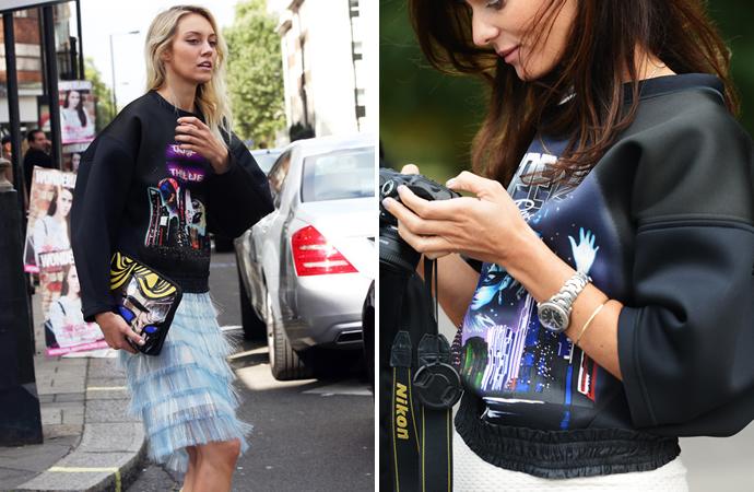 Уличный стиль на Неделе моды в Лондоне - фото №2