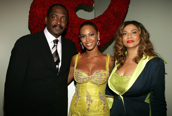 Бейонсе с родителями