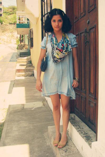 Топ 20 модных весенних платьев из денима - фото №10
