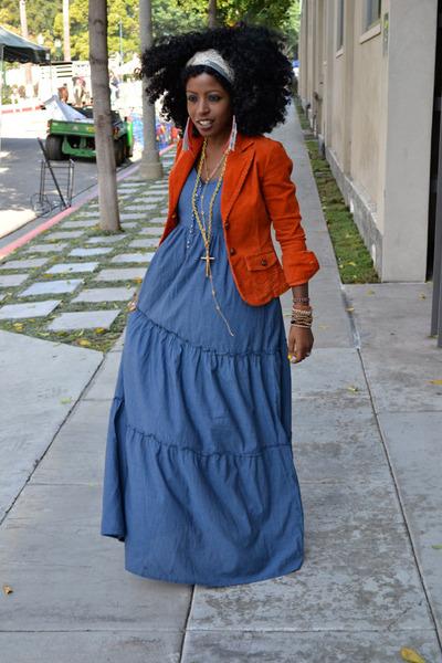 Топ 20 модных весенних платьев из денима - фото №9