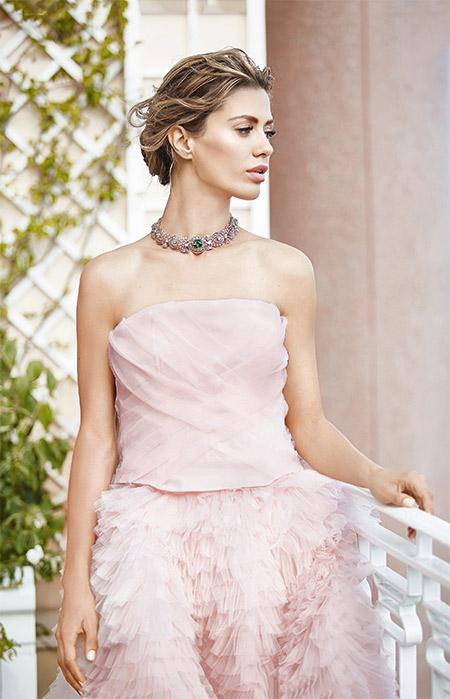 виктория боня платье