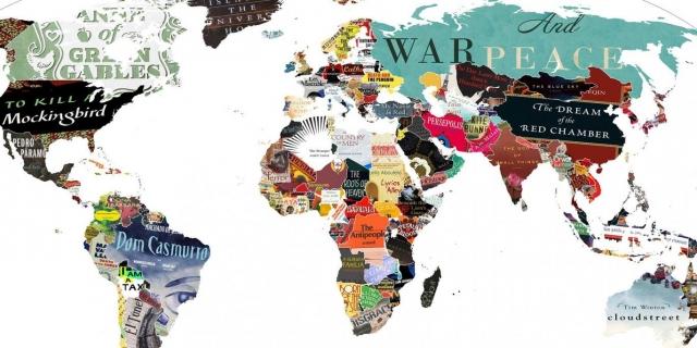 Литературная карта мира