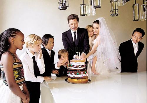 Что подарил Брэд Питт Анджелине Джоли на 40-летие - фото №2