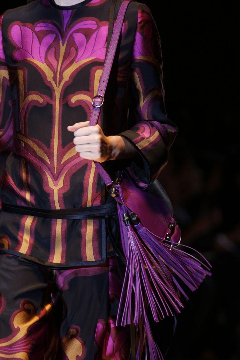 Сумка с бахромой Gucci - фото №2