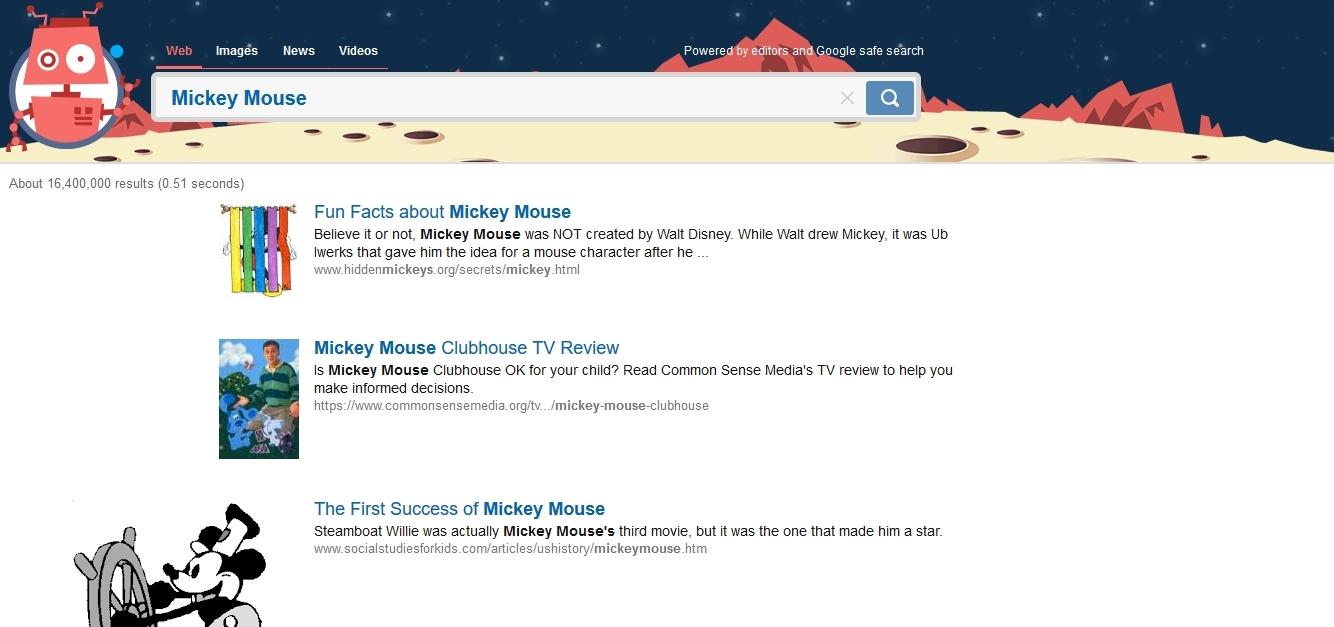 Kiddle – поисковик для детей, который создал Google - фото №1