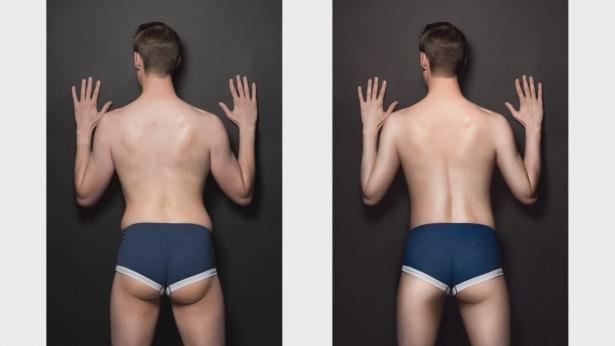Что будет, если фотографии мужчин отфотошопить по стандартам женской красоты: уже не люди, а объекты - фото №7