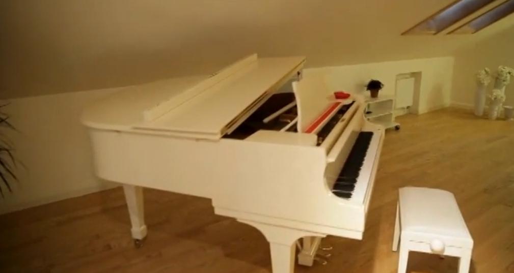 Тина Кароль впервые показала, как она живет: большая гардеробная, белый рояль и свой огород - фото №3