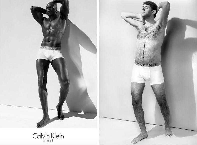 Обычные мужчины & модели: как выглядит реклама нижнего белья в реальной жизни - фото №3