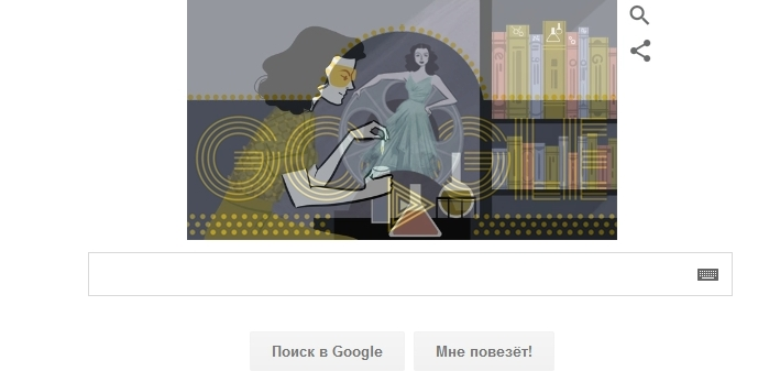 101 год со дня рождения Хеди Ламарр