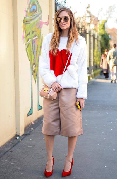 Тренд: модные брюки-кюлоты - фото №32