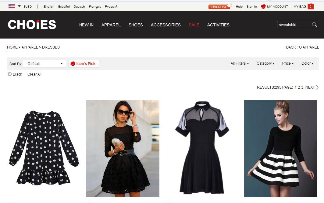 В каких магазинах заказывать одежду онлайн: масс-маркет - фото №5