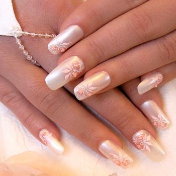 Модный свадебный маникюр-2011 - фото №8