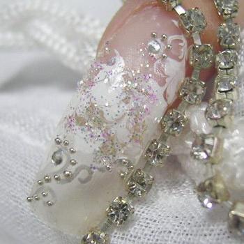 Модный свадебный маникюр-2011 - фото №10