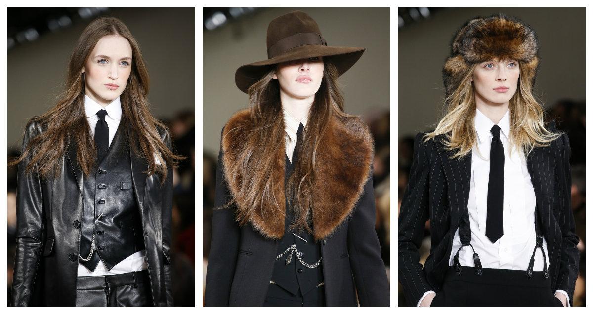 Неделя моды в Нью-Йорке Ральф Лорен