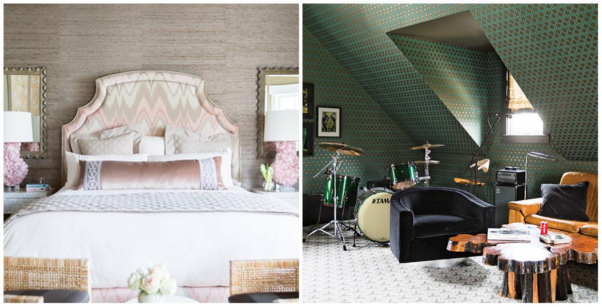 Семейный дом Кличко и Панеттьери: нежная спальня и музыкальная комната над гаражом - фото №2