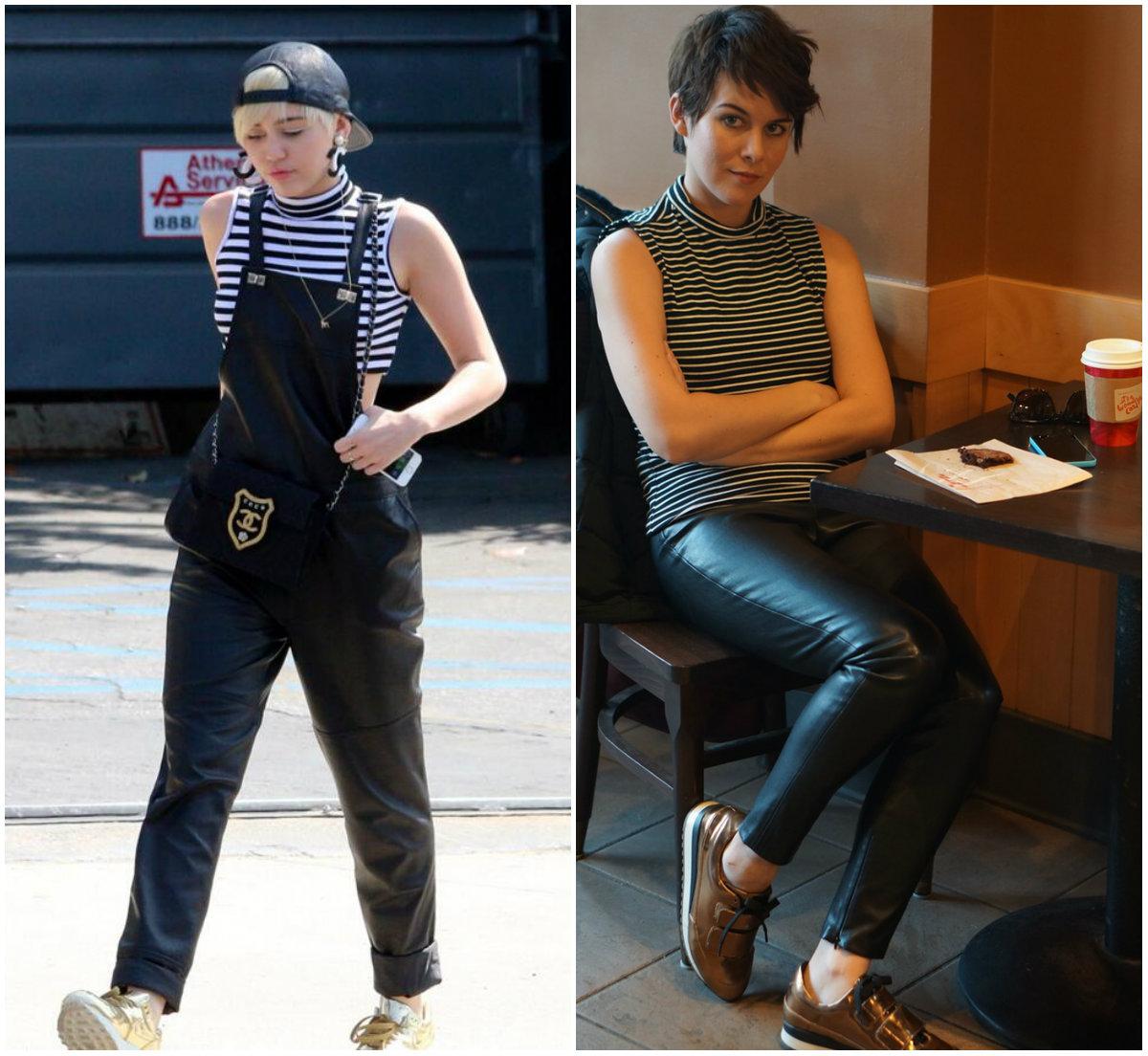 Девушка неделю одевалась как Майли Сайрус: смелый эксперимент со звездным стилем - фото №2