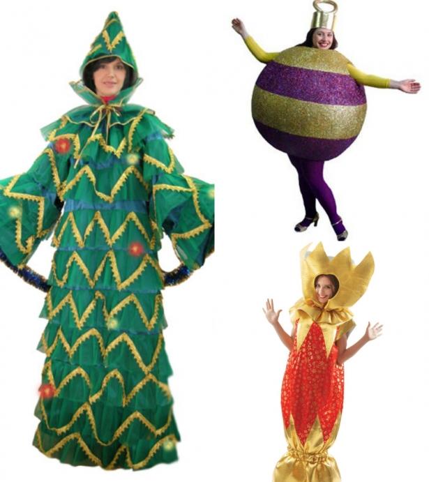Как люди одеваются на Новый год: подборка неожиданных решений для карнавального костюма - фото №4