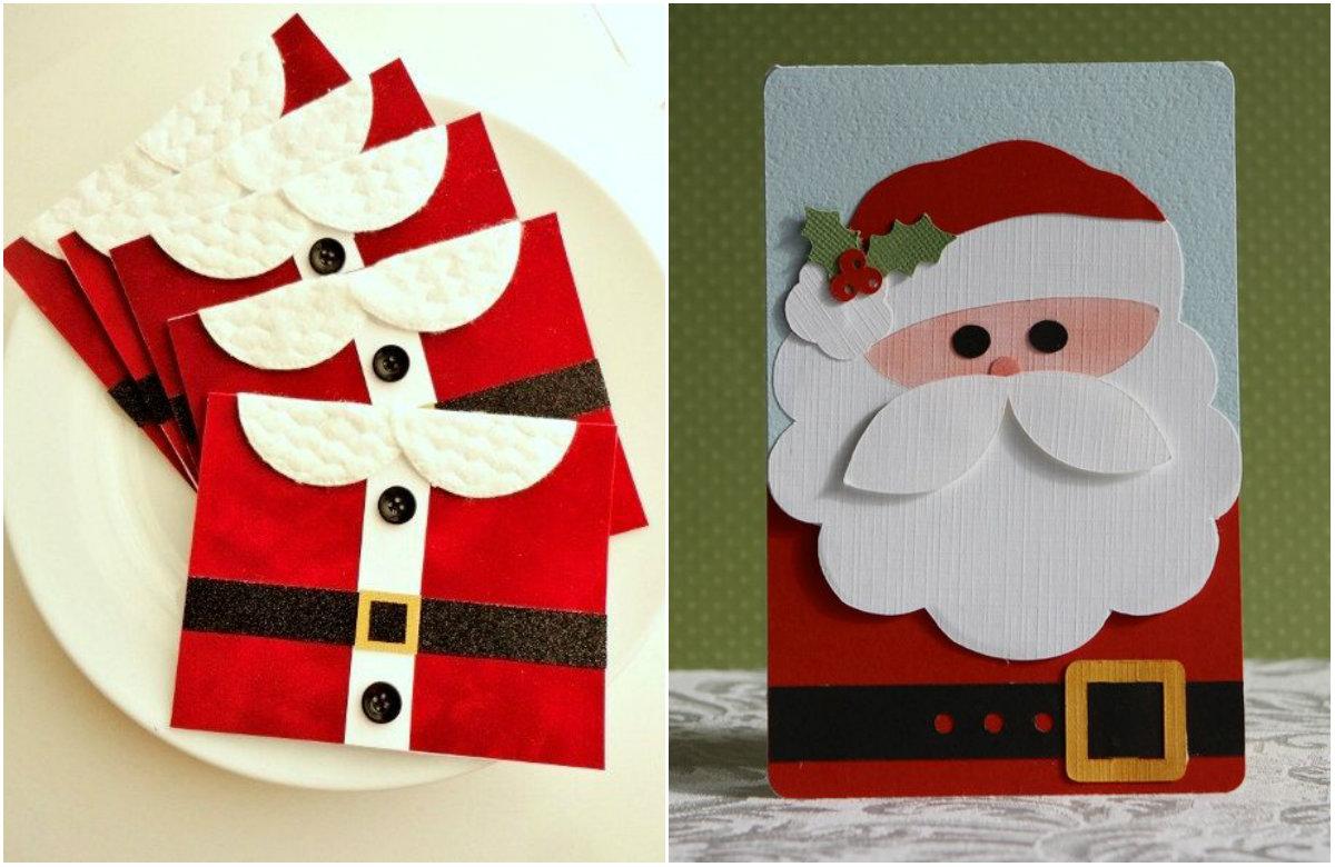 Как создать новогоднюю открытку своими руками: видеоуроки - фото №1