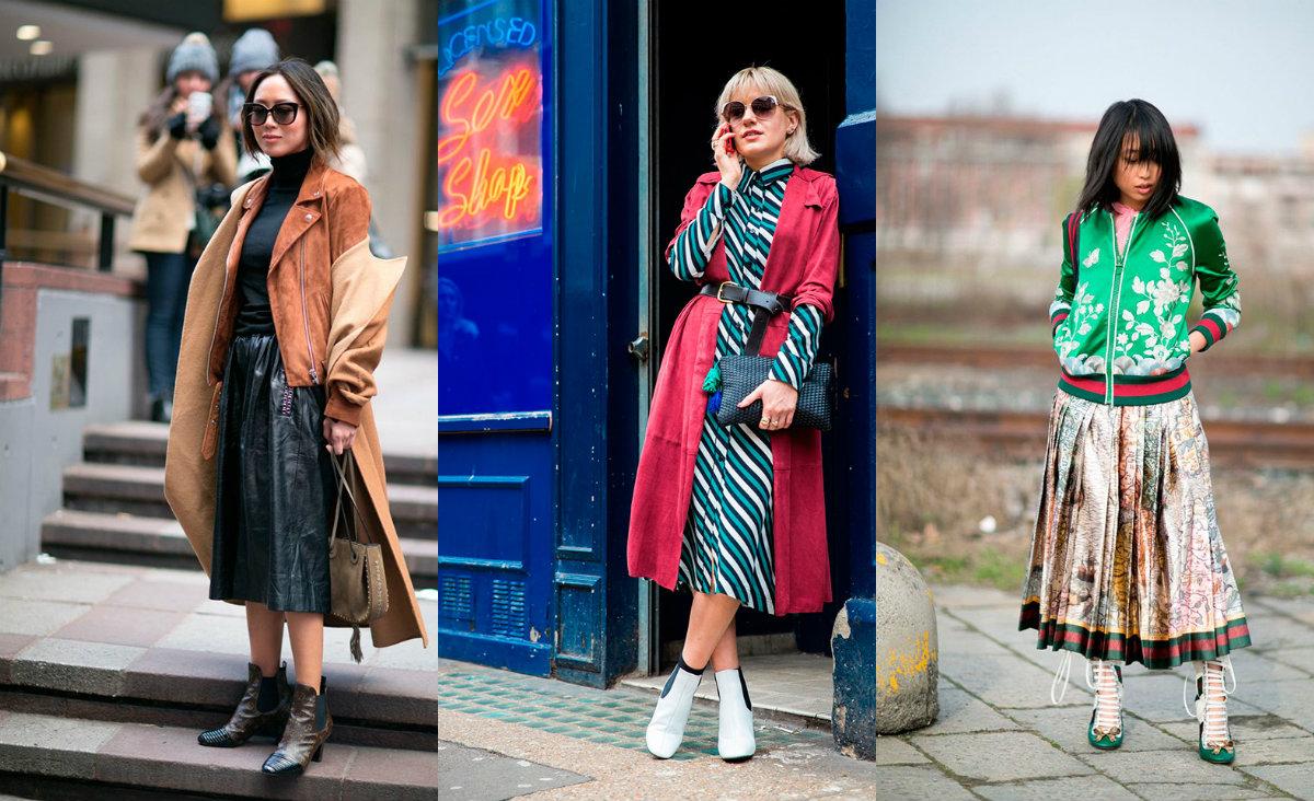 Все, что ты хотела знать о ботильонах: где купить, какие в моде и как носить с юбкой