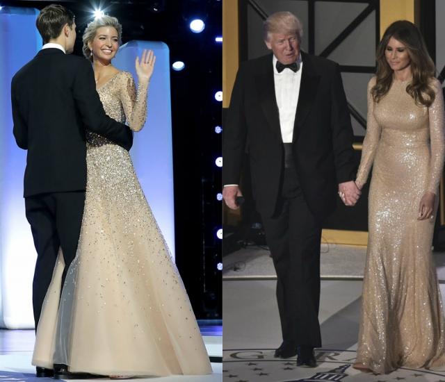 иванка трамп и меланья трамп стиль фото