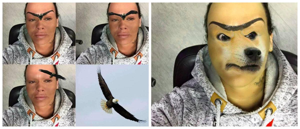 ужасные брови фото