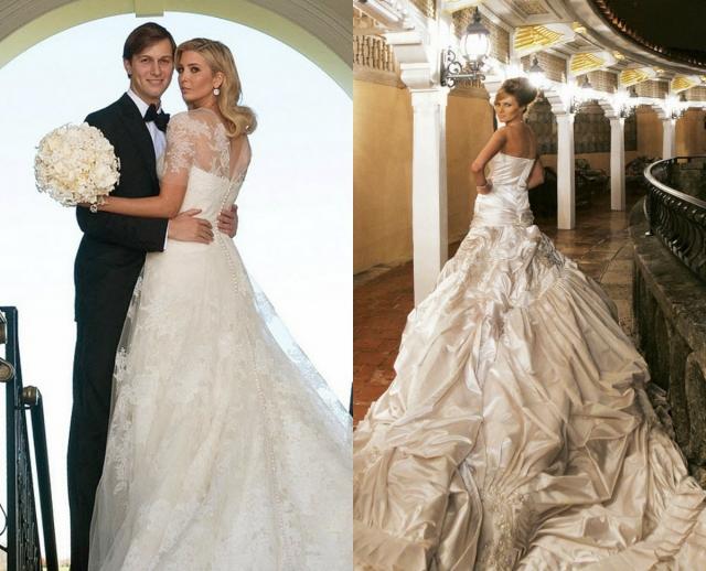 свадебное платье иванка трамп фото свадебное платье меланья трамп фото