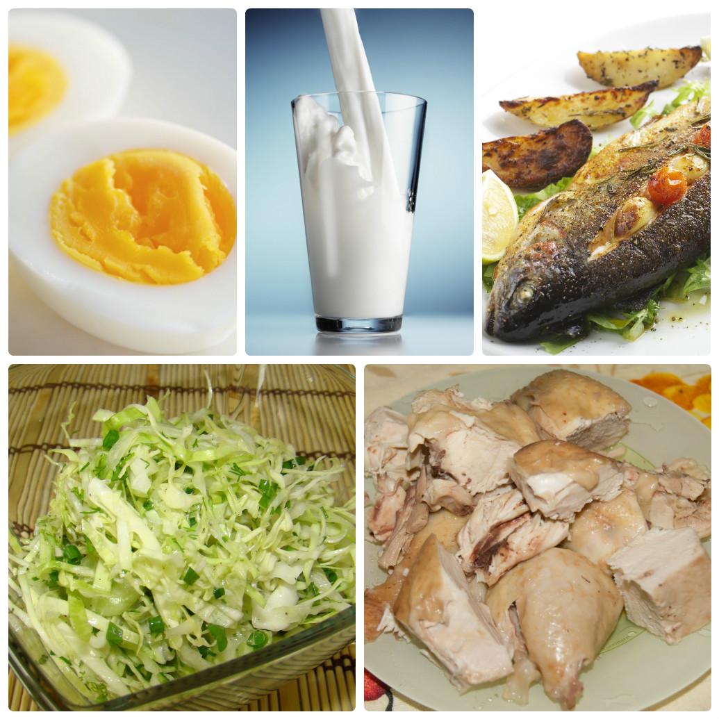 Завтраки Белковой Диеты. Белковая диета для похудения: меню на неделю