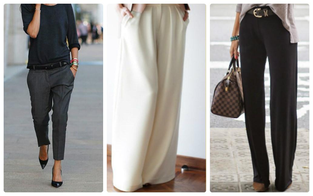 Как правильно выбрать женские брюки для типа фигуры салатный перчик