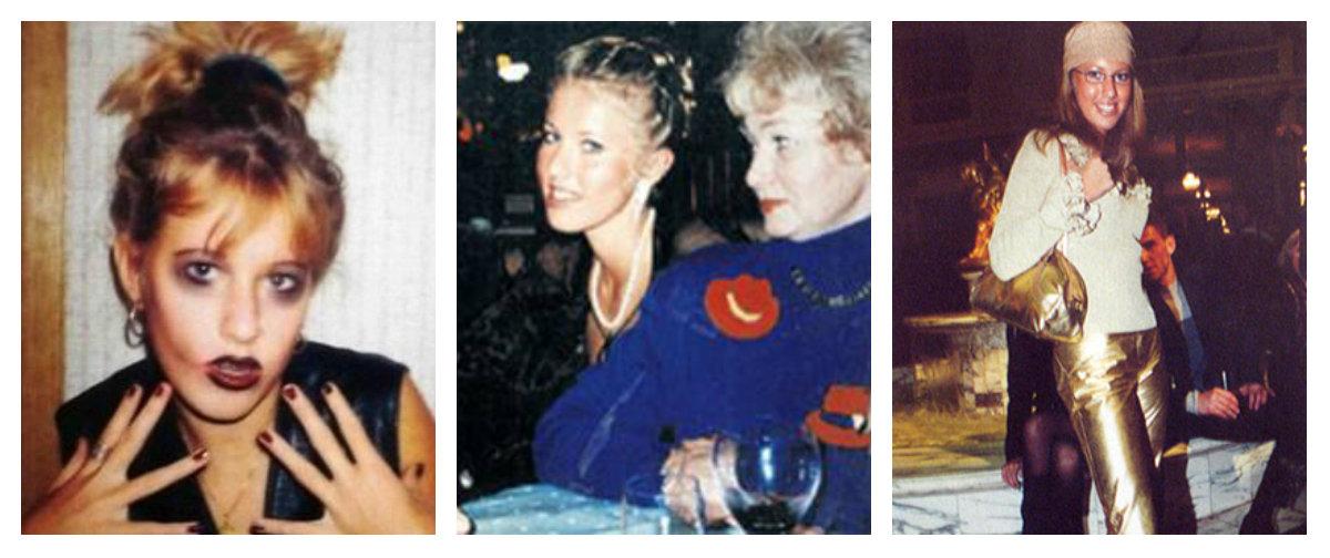 Эволюция стиля Ксении Собчак за 20 лет