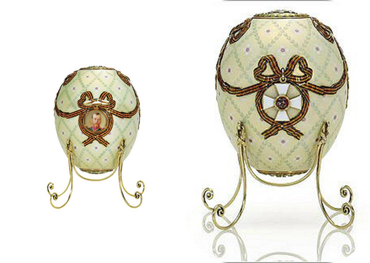 Яйца Фаберже                                                           Яйцо Орден Святого Георгия