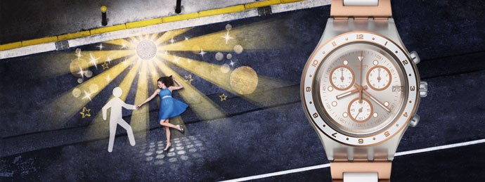 Коллекция часов Swatch лето 2014 - фото №5
