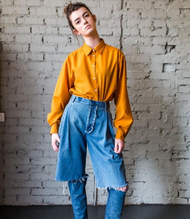 джинсы ксении шнайдер