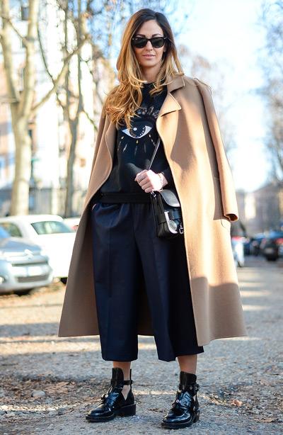 Тренд: модные брюки-кюлоты - фото №34