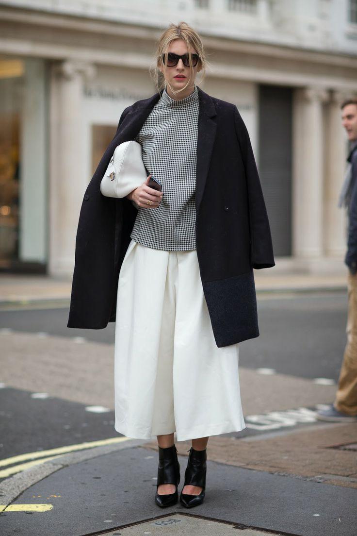 Тренд: модные брюки-кюлоты - фото №20