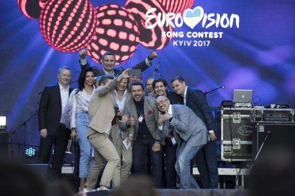 Евровидение-2017: в центре Киева открылась главная фан-зона конкурса Eurovision Village (ФОТО) - фото №1