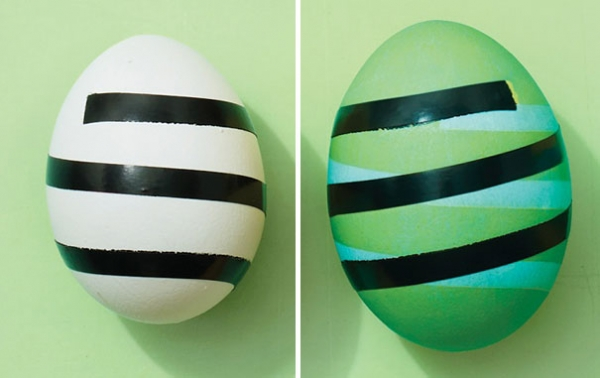 Как красиво красить яйца на Пасху: лучшие идеи - фото №13