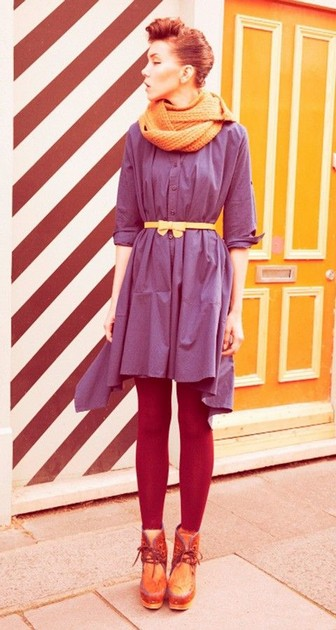 Тренд: платье-рубашка - фото №6