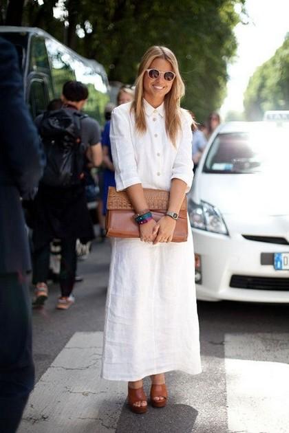 Тренд: платье-рубашка - фото №18