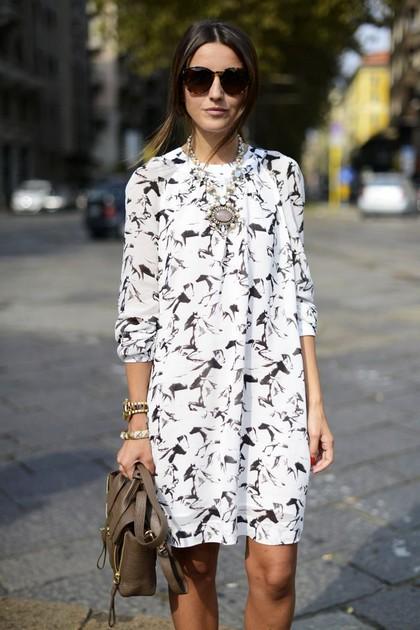 Тренд: платье-рубашка - фото №19